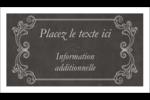 Affiche de style pâtisserie Carte d'affaire - gabarit prédéfini. <br/>Utilisez notre logiciel Avery Design & Print Online pour personnaliser facilement la conception.