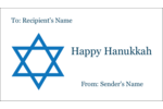 Add decorative symbolism to custom projects with pre-designed Star of David templates.