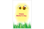 Thank Mom for always BEE-living in you with a momma bee and baby bee! Create a personalized project for your Mother's Day celebrations with our pre-designed Mother Bees templates!