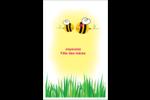 Maman abeille Cartes Et Articles D'Artisanat Imprimables - gabarit prédéfini. <br/>Utilisez notre logiciel Avery Design & Print Online pour personnaliser facilement la conception.