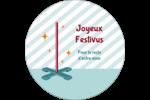Les gabarits Festivus pour votre prochain projet Étiquettes rondes - gabarit prédéfini. <br/>Utilisez notre logiciel Avery Design & Print Online pour personnaliser facilement la conception.