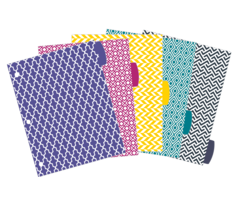 A Span Pattern Pop Colourful Dividers dividers