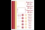 Lanterne lunaire Cartes Et Articles D'Artisanat Imprimables - gabarit prédéfini. <br/>Utilisez notre logiciel Avery Design & Print Online pour personnaliser facilement la conception.