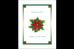 Grand poinsettia Reliures - gabarit prédéfini. <br/>Utilisez notre logiciel Avery Design & Print Online pour personnaliser facilement la conception.