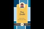 Hibou diplômé Carte d'affaire - gabarit prédéfini. <br/>Utilisez notre logiciel Avery Design & Print Online pour personnaliser facilement la conception.