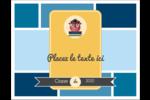 Hibou diplômé Cartes de notes - gabarit prédéfini. <br/>Utilisez notre logiciel Avery Design & Print Online pour personnaliser facilement la conception.