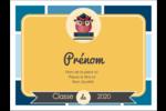 Hibou diplômé Étiquettes badges autocollants - gabarit prédéfini. <br/>Utilisez notre logiciel Avery Design & Print Online pour personnaliser facilement la conception.