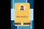 Hibou diplômé Carte Postale - gabarit prédéfini. <br/>Utilisez notre logiciel Avery Design & Print Online pour personnaliser facilement la conception.