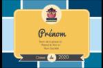 Hibou diplômé Badges - gabarit prédéfini. <br/>Utilisez notre logiciel Avery Design & Print Online pour personnaliser facilement la conception.
