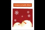 Bonhommes de neige rouges Reliures - gabarit prédéfini. <br/>Utilisez notre logiciel Avery Design & Print Online pour personnaliser facilement la conception.