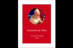Père Noël rétro Reliures - gabarit prédéfini. <br/>Utilisez notre logiciel Avery Design & Print Online pour personnaliser facilement la conception.