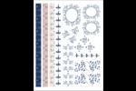 Mariage et branche de busserole Cartes Et Articles D'Artisanat Imprimables - gabarit prédéfini. <br/>Utilisez notre logiciel Avery Design & Print Online pour personnaliser facilement la conception.