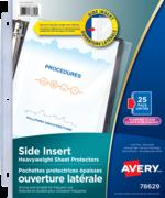 Avery<sup>®</sup> Pochette protectrices avec ouverture latérale 78629