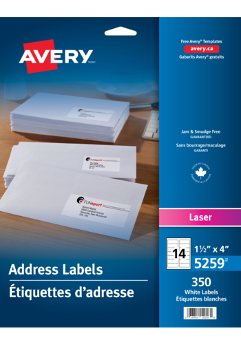 Avery<sup>®</sup> Address Labels - Avery<sup>®</sup> Address Labels