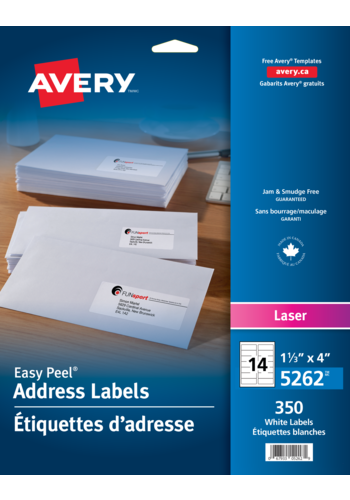Avery<sup>®</sup> Address Labels with Easy Peel<sup>®</sup> - Avery<sup>®</sup> Address Labels
