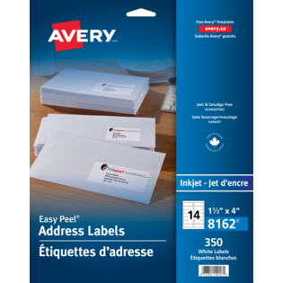 Avery® Étiquettes d'adresse