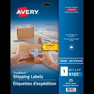 Avery® Étiquettes d'expédition