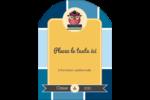 Hibou diplômé Étiquettes arrondies - gabarit prédéfini. <br/>Utilisez notre logiciel Avery Design & Print Online pour personnaliser facilement la conception.