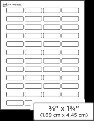 Custom Printed Address Labels