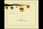 Branche de glands Étiquettes d'expédition - gabarit prédéfini. <br/>Utilisez notre logiciel Avery Design & Print Online pour personnaliser facilement la conception.