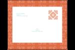 Concept Arc Orange Étiquettes d'expédition - gabarit prédéfini. <br/>Utilisez notre logiciel Avery Design & Print Online pour personnaliser facilement la conception.