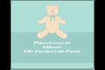 Nounours pour bébé Étiquettes d'expédition - gabarit prédéfini. <br/>Utilisez notre logiciel Avery Design & Print Online pour personnaliser facilement la conception.