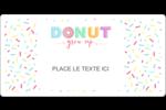 Beignet de fête d'anniversaire Étiquettes D'Identification - gabarit prédéfini. <br/>Utilisez notre logiciel Avery Design & Print Online pour personnaliser facilement la conception.