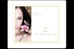 Femme aux orchidées Étiquettes d'expédition - gabarit prédéfini. <br/>Utilisez notre logiciel Avery Design & Print Online pour personnaliser facilement la conception.