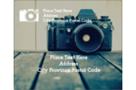 Add artistic vision to projects with customizable, pre-designed Camera templates.