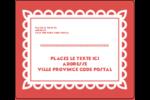 Confettis de Cinco de Mayo Étiquettes d'expédition - gabarit prédéfini. <br/>Utilisez notre logiciel Avery Design & Print Online pour personnaliser facilement la conception.