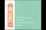 Horloges Étiquettes d'expédition - gabarit prédéfini. <br/>Utilisez notre logiciel Avery Design & Print Online pour personnaliser facilement la conception.