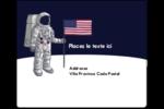 Astronaute Étiquettes d'expédition - gabarit prédéfini. <br/>Utilisez notre logiciel Avery Design & Print Online pour personnaliser facilement la conception.