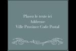 Cachet français Étiquettes d'expédition - gabarit prédéfini. <br/>Utilisez notre logiciel Avery Design & Print Online pour personnaliser facilement la conception.
