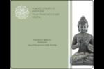 Bouddha Étiquettes d'expédition - gabarit prédéfini. <br/>Utilisez notre logiciel Avery Design & Print Online pour personnaliser facilement la conception.