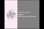 Bouquet de fleurs Étiquettes d'expédition - gabarit prédéfini. <br/>Utilisez notre logiciel Avery Design & Print Online pour personnaliser facilement la conception.