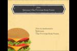 Hamburger Étiquettes d'expédition - gabarit prédéfini. <br/>Utilisez notre logiciel Avery Design & Print Online pour personnaliser facilement la conception.