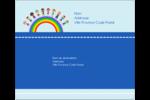 Éducation des enfants Étiquettes d'expédition - gabarit prédéfini. <br/>Utilisez notre logiciel Avery Design & Print Online pour personnaliser facilement la conception.
