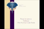 Éléphant géométrique Étiquettes d'expédition - gabarit prédéfini. <br/>Utilisez notre logiciel Avery Design & Print Online pour personnaliser facilement la conception.