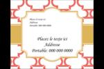 Tuile marocaine saumon Étiquettes d'expédition - gabarit prédéfini. <br/>Utilisez notre logiciel Avery Design & Print Online pour personnaliser facilement la conception.