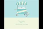 Chariot à crème glacée Étiquettes d'expédition - gabarit prédéfini. <br/>Utilisez notre logiciel Avery Design & Print Online pour personnaliser facilement la conception.