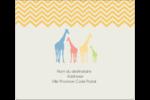 Girafe en fête Étiquettes d'expédition - gabarit prédéfini. <br/>Utilisez notre logiciel Avery Design & Print Online pour personnaliser facilement la conception.