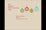 Les gabarits Boules décoratives artisanales pour votre prochain projet des Fêtes Étiquettes d'expédition - gabarit prédéfini. <br/>Utilisez notre logiciel Avery Design & Print Online pour personnaliser facilement la conception.