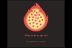 Pizza ardente Étiquettes d'expédition - gabarit prédéfini. <br/>Utilisez notre logiciel Avery Design & Print Online pour personnaliser facilement la conception.