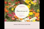 Prairie fleurie Étiquettes d'expédition - gabarit prédéfini. <br/>Utilisez notre logiciel Avery Design & Print Online pour personnaliser facilement la conception.