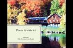 Maison du lac Étiquettes d'expédition - gabarit prédéfini. <br/>Utilisez notre logiciel Avery Design & Print Online pour personnaliser facilement la conception.