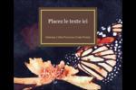 Papillon perché Étiquettes d'expédition - gabarit prédéfini. <br/>Utilisez notre logiciel Avery Design & Print Online pour personnaliser facilement la conception.