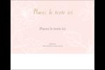 Fleur rose Étiquettes d'expédition - gabarit prédéfini. <br/>Utilisez notre logiciel Avery Design & Print Online pour personnaliser facilement la conception.