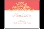 Élégance et mariage Étiquettes d'expédition - gabarit prédéfini. <br/>Utilisez notre logiciel Avery Design & Print Online pour personnaliser facilement la conception.