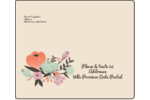 Jardin exotique Étiquettes d'expédition - gabarit prédéfini. <br/>Utilisez notre logiciel Avery Design & Print Online pour personnaliser facilement la conception.