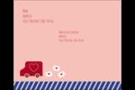 Saint-Valentin par la poste Étiquettes d'expédition - gabarit prédéfini. <br/>Utilisez notre logiciel Avery Design & Print Online pour personnaliser facilement la conception.